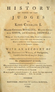 A History of Three of the Judges of King Charles I