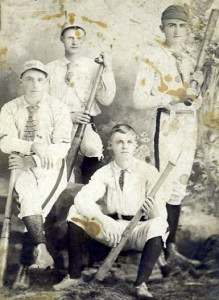 John and his brothers. From left to right: John, Will, James, Henry.