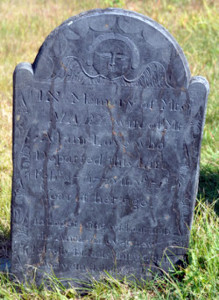 Mary Love's gravestone