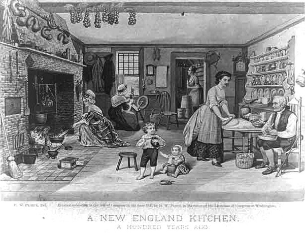 A New England Kitchen