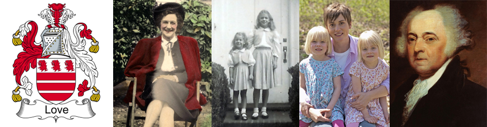 Whitelaw/Love Family History