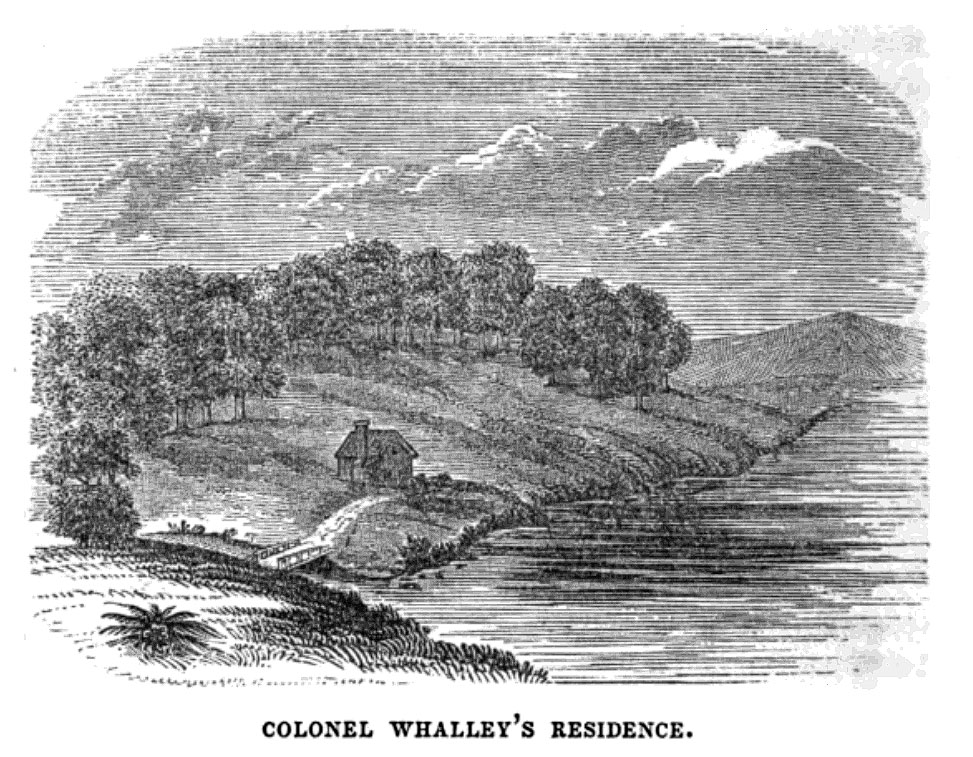 Colonel Whalley's Residence