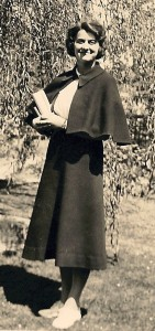 Alvis Ruth Love, 1932, Salem, OR; graduation from Willamette University