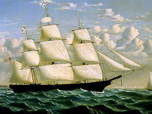 The clipper ship Northern Light