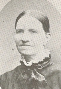 Marcellisse Duval Goulet in younger years. (from Munnick, St. Louis Church Records, vol. II, courtesy Louise Manning Giles)