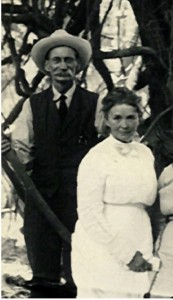 George and Hanna Love, soon after arriving in California, 1914.