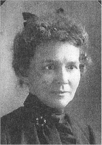 Hanna Love, 1901, age 47, a few years before she left Michigan and moved to Oregon