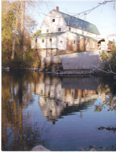 Westwind Mill, Linden, MI, est. 1837. This large mill may have been similar to the J. Wallingford 5 story mill that Lorenzo Love managed in Ceresco, MI, in the 1840s. Photo source: http://www.westwindonline.shoppingcartsplus.com/home.html