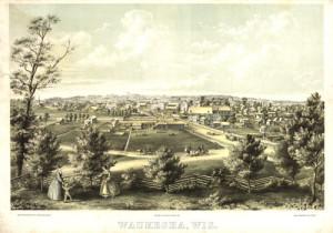 Waukesha, Wisconsin, 1857